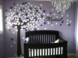 Purple Wall Decals For Nursery Purple Wall Decals For Nursery My Baby Purple Bedroom Decal