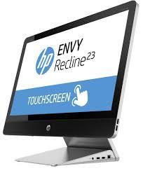 ordinateur de bureau en wifi hp 23 k130ef aio inclinable tactile 23 pouces ips hd intel