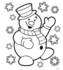 Christmas Colouring Pages Preschool In Cure Print Draw Printable Colouring Pages