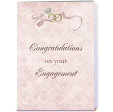 congratulations on engagement card engagement congratulations rings bow greeting card by starstock