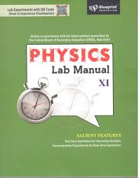 blueprint education physics lab manual with practical notebook for
