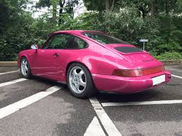 porsche pink 1992 porsche carrera 964 rs coupe coys of kensington