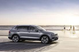 volkswagen tiguan 2018 interior 2018 volkswagen tiguan allspace previews u s spec model