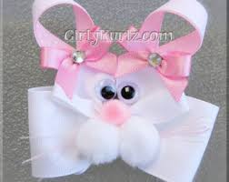 easter hair bows easter hair bow easter bunny hair bow bunny hair bow easter