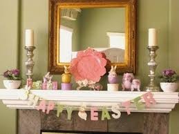 Easter Decorations For The Home 59 Best Easter Mantels Images On Pinterest Easter Decor
