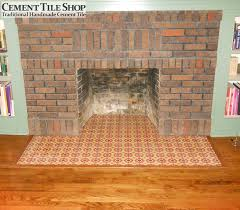 fireplace hearth cement tile shop blog