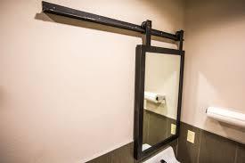 Frameless Bathroom Mirror Large Bathroom Extraordinary Framed Bathroom Mirrors Frameless