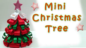 mini christmas tree easy ana diy crafts decorations creative