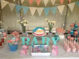 baby shower unknown gender pink blue parties fun pinterest