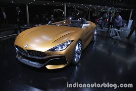 bmw concept bmw concept z4 front three quarter at iaa 2017 indian autos blog