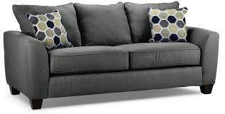 leons furniture kitchener langley sofa charcoal leon u0027s
