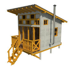 tiny cottages plans elevated cabin plans