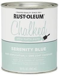 rust oleum chalked paint quart at menards