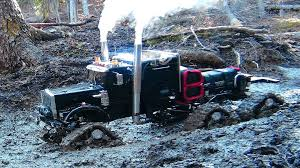 mud bog monster truck is a rc 4x4 semi truck off road beast that