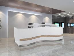 Wholesale Reception Desk Safety Signs Salon Reception Counter