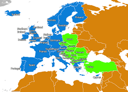 Turkey Map Europe by Map Of Western Europe