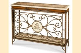 powell scroll console table aico discoveries console tables and mirrors pertaining to scroll