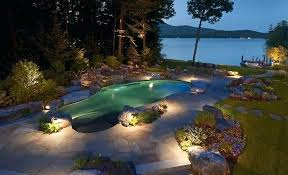 Pool Landscape Lighting Ideas Pool Landscape Lighting Musho Me
