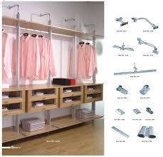 Pole In Bedroom New Model Durable Aluminum Bedroom Closet Assemble Minimalist
