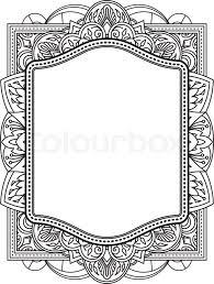 henna wedding invitations ethnic template for design wedding invitations and greeting cards