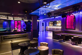 awesome architecture design bar lighting night club neon lounge