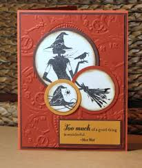 halloween card ideas stampin up halloween card at maple city