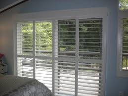Plantation Shutters On Sliding Patio Doors by Window Treatments For Sliding Glass Doors Mcfeely