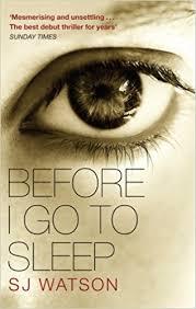 before i go to sleep s j watson 9780552164139 books