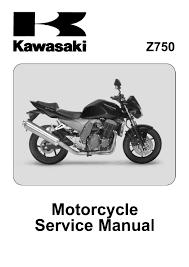 kawasaki z750 service manual