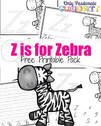 z is for zebra abcs for me u2013 only passionate curiosity