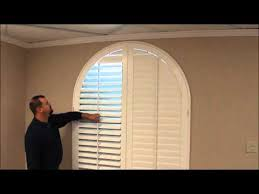 Sheer Roller Blinds For Arched Arched Shutters 3 Blind Mice Window Coverings San Diego Ca