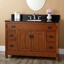 Oak Bathroom Vanity Cabinets by Cosy Oak Bathroom Vanity Cabinets With 48