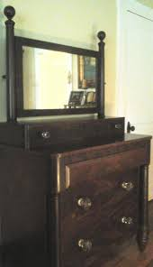 dressing bureau a york city classical mahogany bureau with looking glass