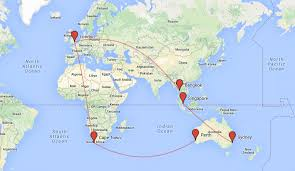 Cape Air Route Map by My Top 7 Gap Year Routes And Round The World Ticket Ideas