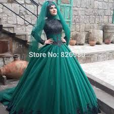 islamic wedding dresses aliexpress buy sleeve islamic wedding dress 2017