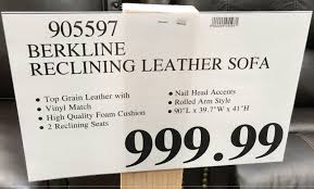 berkline reclining sofa and loveseat sofas center full grain leather sofa costco youtube pertaining to