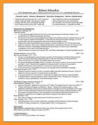 Financial Analyst Resume Template Financial Analyst Resume Sample Finance Resume Template 18