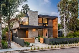 modern house california a new contemporary home arrives on this street in venice california