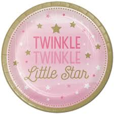 twinkle twinkle party supplies twinkle twinkle girl 1st birthday party supplies