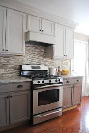 White And Gray Kitchen Cabinets Best 25 Rental Kitchen Makeover Ideas That You Will Like On