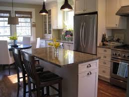 red oak wood portabella amesbury door narrow kitchen island with