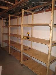 Cheap Houses To Build Backyard Build Basement Shelving Cheap Basement Shelving 18837