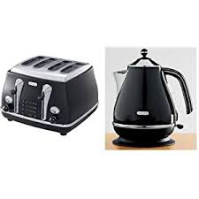 Black Kettle Toaster Set 2011 01 02 Delonghi Kettle And Toaster