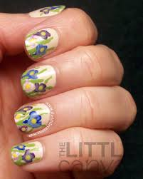 crocus nail art spring is here the little canvas