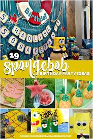 spongebob party ideas 19 spongebob party ideas spaceships and laser beams