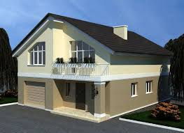 3d model two storey house download for free with 3d models house