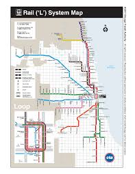 Map Of Chicago Suburbs Cta Maps Bus And U0027l U0027 System Maps