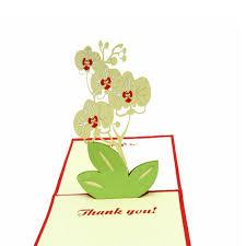 thanksgiving friendship kk 100 handmade 3d pop up customized greeting card best wish thank