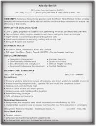 5 professional receptionist resume samples word pdf examples