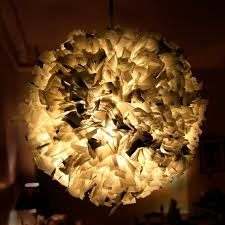 project 15 week 19 u2013 recycled plastic bag pendant light the 3
